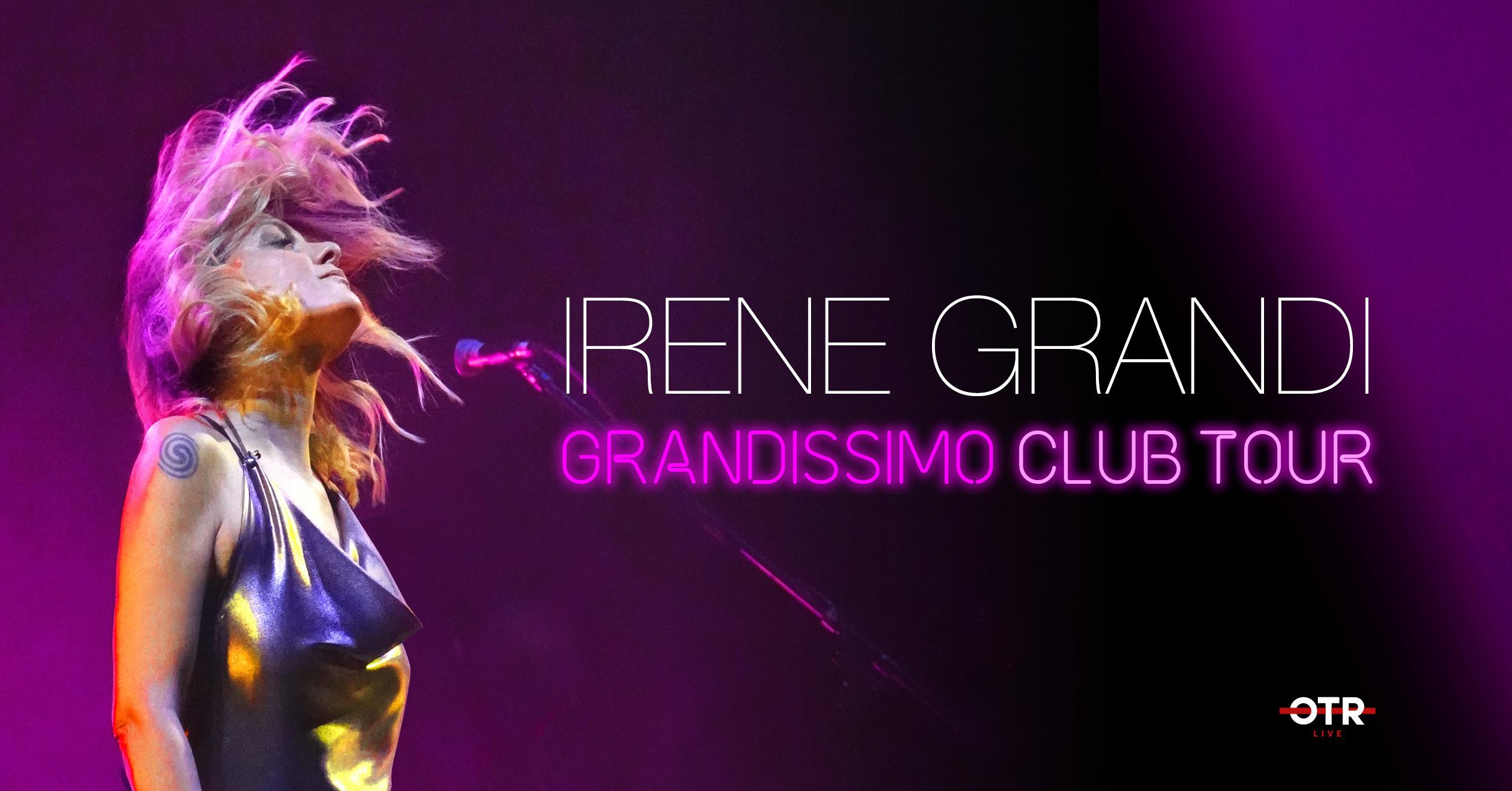 Irene Grandi Tour Club 2020