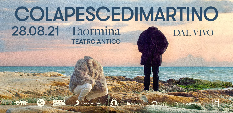 ColapesceDimartino Live Taormina 2021