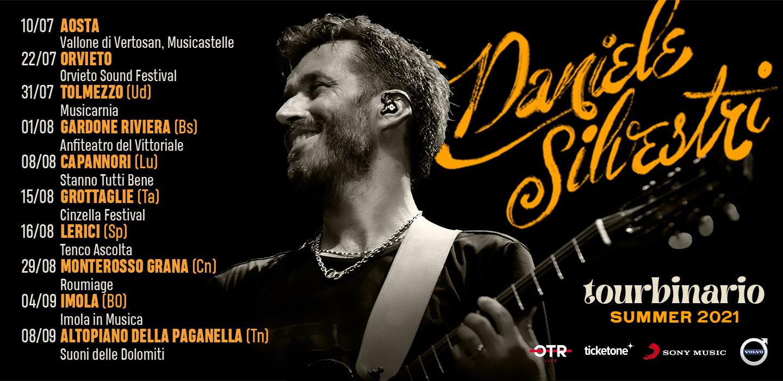 Daniele Silvestri Tourbinario Summer 2021
